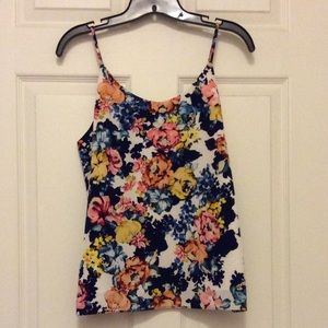 *NWT* Floral Print Tank Top from The Limited